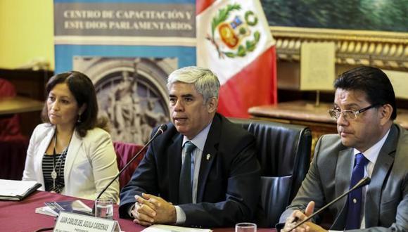 Juan Carlos del Águila había sido designado como asesor del canciller la semana pasada. (Foto: Congreso)