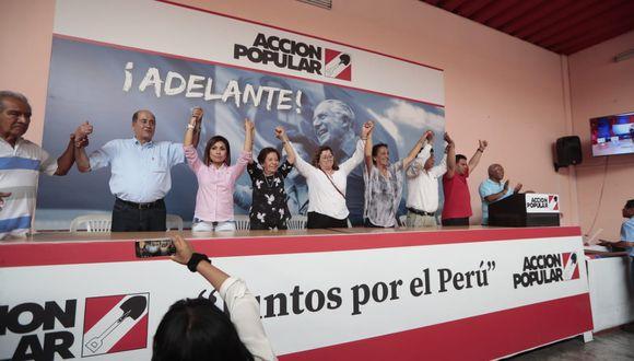 Dirigentes del partido enviaron un oficio al presidente del Congreso, solicitando un pleno extraordinario para este domingo.