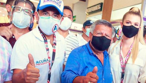 Richard Acuña se refirió al apoyo de Alianza para el Progreso a una candidatura en la segunda vuelta de las Elecciones 2021. (Foto: Facebook César Acuña)