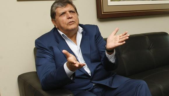 Alan García indicó también que no es un deshonor para él permanecer en el Perú por 18 meses. (Foto: USI / Video: Canal N)