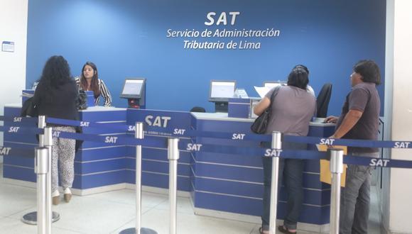 El SAT ofrece diversas modalidades para el pago de tributos. (Foto: GEC)