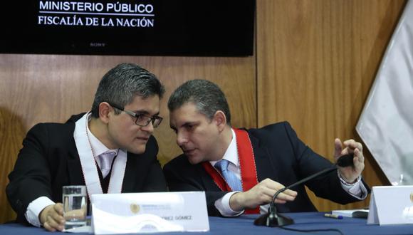 Los fiscales Rafael Vela y José Domingo Pérezbuscarán llegar a un acuerdo de colaboración con el banco de Andorra. (Foto: GEC)