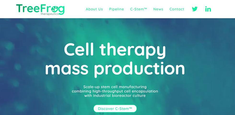 La francesa TreeFrog ha desarrollado una plataforma de células autorreplicantes, o dicho de otro modo, células madre capaces de regenerar cualquier parte del cuerpo humano. Que el proyecto no es ciencia ficción lo prueba todo el apoyo que tiene detrás para conseguir su objetivo, de su país de procedencia, Francia, y del resto de la UE y tanto públicos como privados: los programas i-Nov Innovation Challenge y EIC Accelerator, y los fondos de capital riesgo XAnge y Galia Gestion, entre otros.