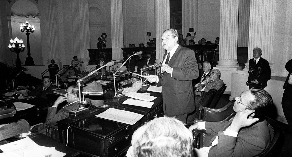 Armando Villanueva del Campo, político aprista, fue presidente del Senado y presidente de la Cámara de Diputados. (Foto: Archivo El Comercio)