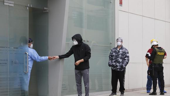 Los voluntarios del ensayo clínico de la vacuna Sinopharm han realizado varias protestas para acceder a las dosis contra el COVID-19. (Foto: Joel Alonzo / GEC).