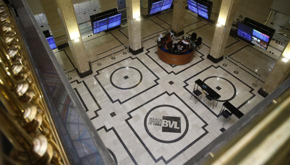El indicador S&P/BVL Perú General, el más representativo de la bolsa, descendía un 0.47%. (Foto: GEC)