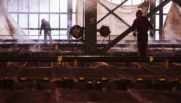 El repunte del cobre se frenó la semana pasada, junto con otros materiales industriales, después de que China intensificara sus esfuerzos por enfriar el alza de las materias primas, que está avivando los temores inflacionarios a nivel mundial.  (Foto: Bloomberg)