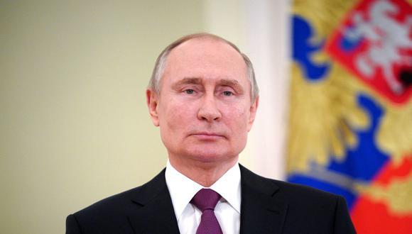 Putin destacó que Rusia es el único país que ha suscrito acuerdos para la producción de su vacuna, Sputnik V, en otros países. (Foto: Mikhail Klimentyev / Sputnik / AFP).