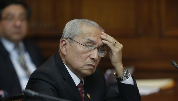 El ex fiscal de la Nación, Pedro Chávarry, ha sido denunciado por Zoraida Ávalos ante el Congreso. (Foto: GEC)