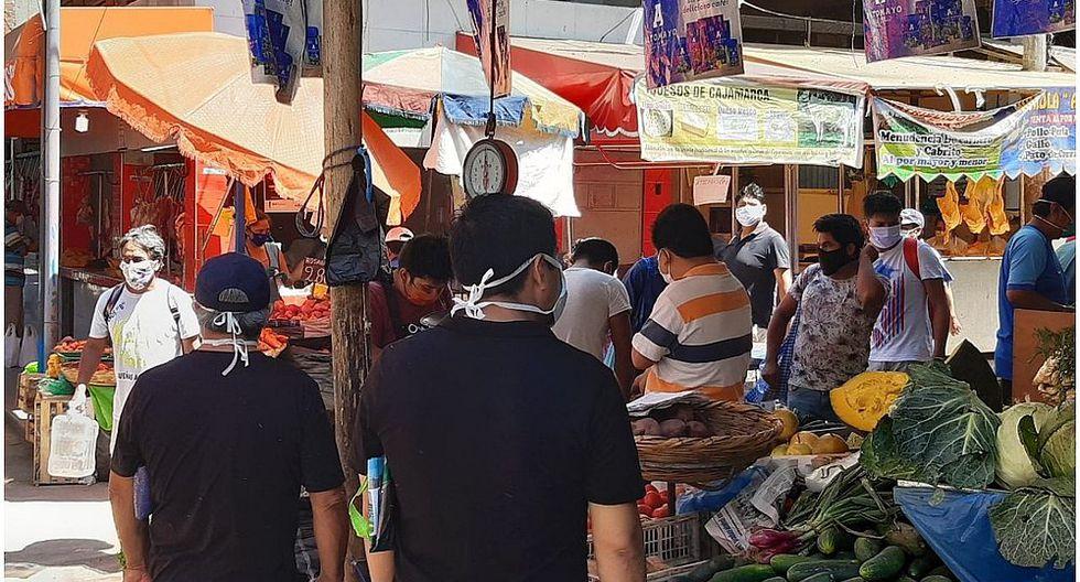 Trujillo: Caos en el mercado La Hermelinda
