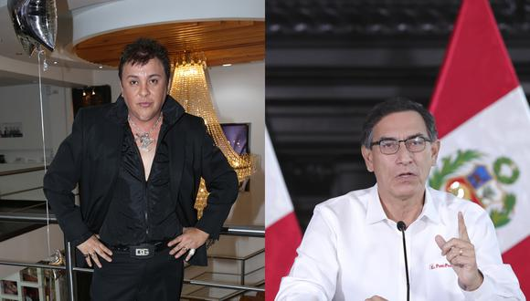 La Fiscalía apunta a una supuesta amistad entre Martín Vizcarra y Richard Cisneros como el origen de sus contratos en el Ministerio de Cultura. (Foto: Martin Herrera / GEC y Presidencia de la República)