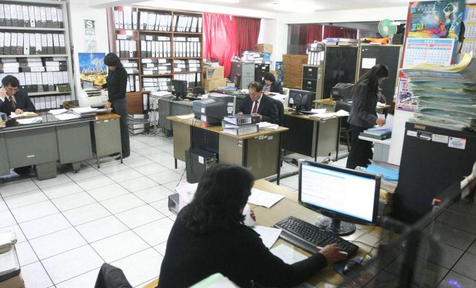 Trabajadores de sector público. (Foto: USI)