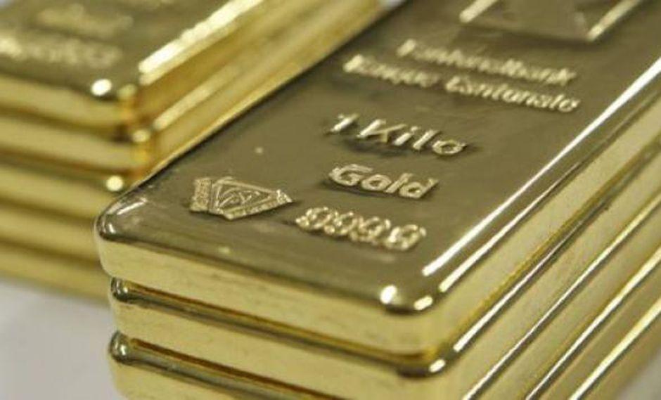 Hoy el oro al contado declinaba un 0.11%. (Foto: Reuters)