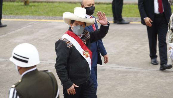 El presidente Pedro Castillo. (Foto: archivo twitter Presidencia Perú)