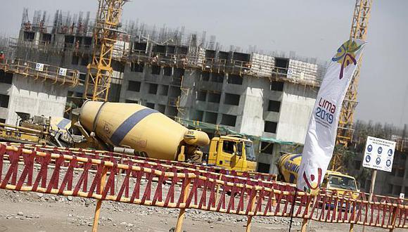 La ejecución de proyectos importantes como los Juegos Panamericanos impulsarán el crecimiento del sector construcción. (Foto: GEC)
