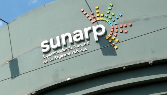 La Superintendencia Nacional de los Registros Públicos (Sunarp), (Foto: Diana Chávez | GEC)