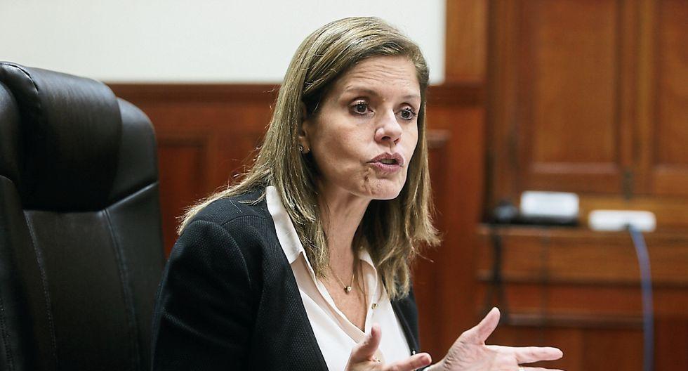 La vicepresidenta Mercedes Araoz estará fuera del país del 27 al 31 de octubre. (Foto: GEC/Archivo)