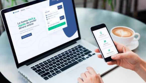 La ganancia de las plataformas online que se dedican a la transferencia de dinero al extranjero está en la tasa de cambio diaria.
