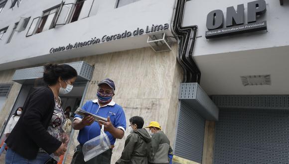 La Oficina de Normalización Previsional (ONP). (Foto: César Campos   GEC)