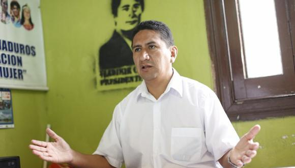 Vladimir Cerrón, gobernador regional de Junín (Fuente: GEC)