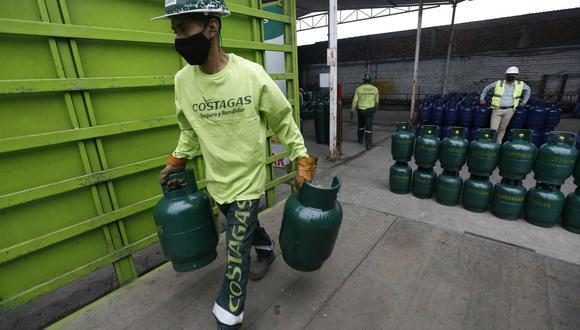 El balón de gas ha registrado un incremento en su precio en los últimos meses. (Fotos : Jorge Cerdan/@photo.gec)