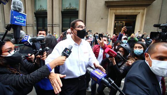 """El fiscal Juárez indicó que su requerimiento se justifica porque el exmandatario fue citado a declarar, pero """"en una actitud de rebeldía no lo hizo y recién se apersona cuando ha sido vacado"""".(Foto: GEC)"""