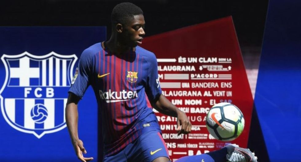 20. Ousmane Dembélé. (Foto: AFP)