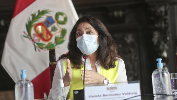 Bermúdez señaló que se enteró sobre la vacuna irregular a Pilar Mazzetti cuando la exministra lo reveló en los medios de comunicación. (Foto: GEC)