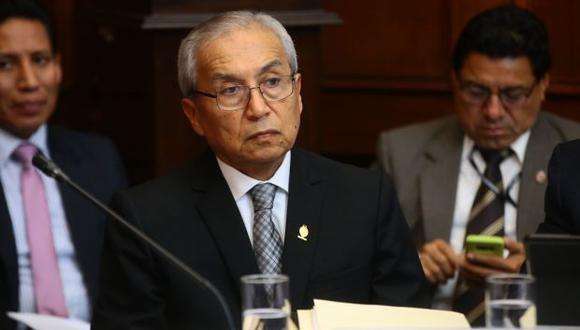 Fiscal supremo Pedro Chavarry.