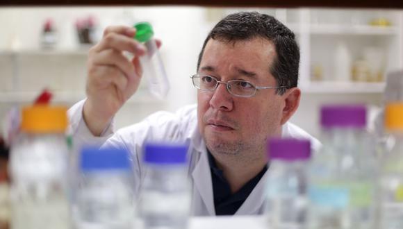 Mirko Zimic participa en el proyecto de la vacuna peruana contra el COVID-19 desarrollada por el laboratorio Farvet. (Difusión)