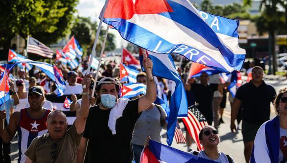 La población cubana empobrecida hizo masivas manifestaciones hace unas tres semanas, las cuales fueron fuertemente reprimidas por el régimen comunista. (Foto: AFP).