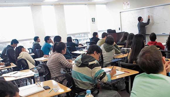 Entidades educativas con negocios se verían afectadas. (Foto: Difusión)