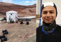 Ingeniero peruano acaba de completar su segunda misión en un simulador a Marte