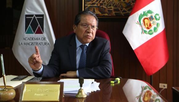 Fiscal Supremo Pablo Sánchez fue designado Coordinador General del Equipo Especial (EE) para el caso Cuellos Blancos del Puerto. (Foto: GEC)