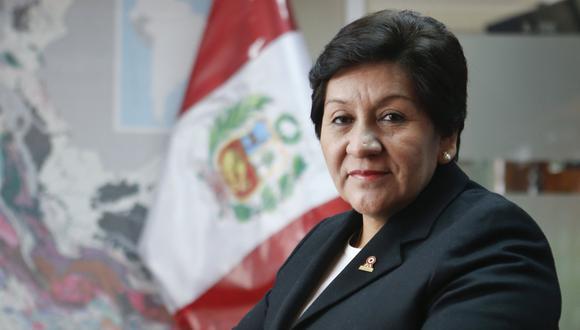 Susana Vilca, nueva Ministra de Energía y Minas (Foto: GEC)