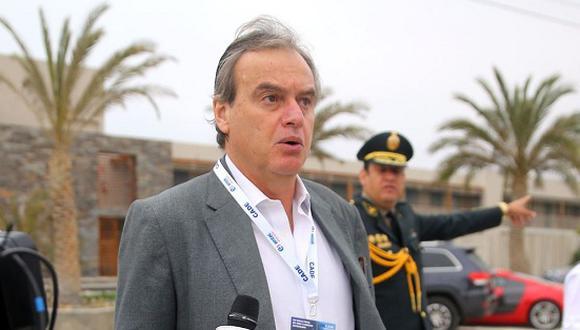 El ministro del Interior, Carlos Basombrio, acusó al Congreso de bloquear las iniciativas legales para supervisar a las cooperativas. (Foto: Andina)