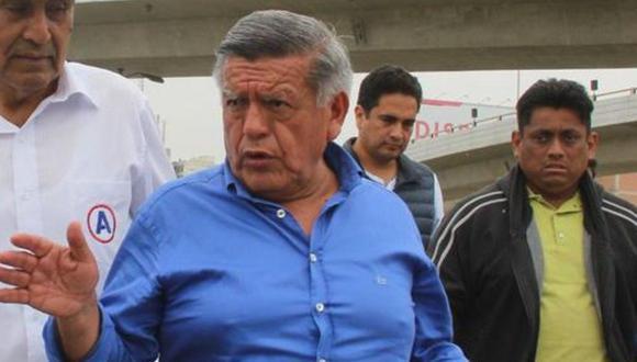 César Acuña dijo que se prematuro hablar de alianzas con Hernando de Soto antes de la primera vuelta. (Foto: GEC)
