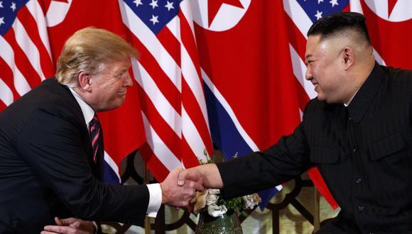 Trump afirmó que decidió abandonar la mesa de negociación debido a la insistencia de los norcoreanos en que pusiera fin a las sanciones que pesan sobre su país. (Foto: AP)