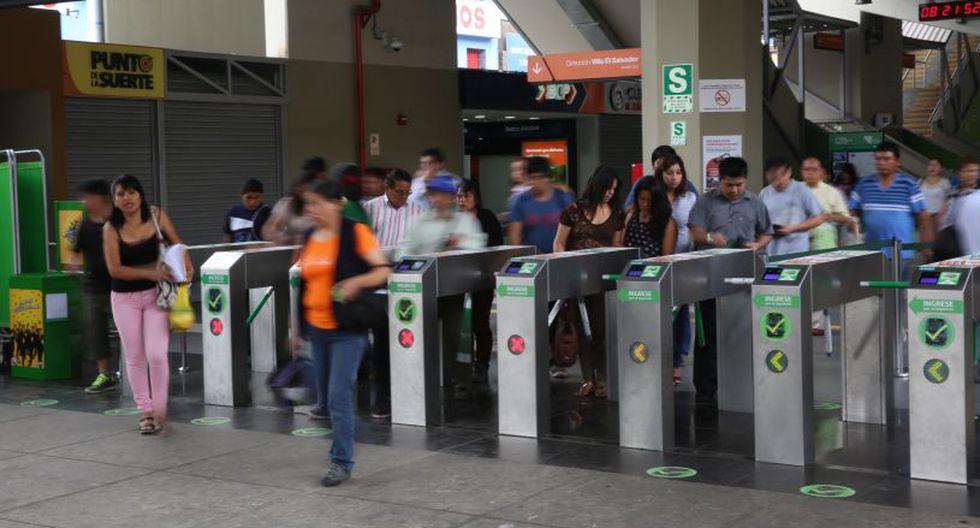 A partir de este viernes 7 de diciembre se incrementarán las medidas de seguridad en la estación Gamarra y en las otras 25. (Imagen referencial/Archivo)