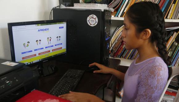 Desde octubre Aprendo en Casa tendrá contenidos para dichos escolares y también se difundirán ofertas de becas. (Foto: Minedu)
