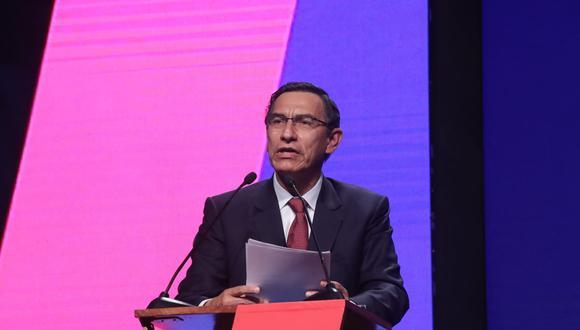 Martín Vizcarra asistió al CADE 2019. (Twitter: Presidencia)
