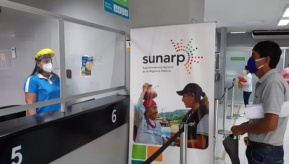 Desde hoy habilitan citas virtuales en las sedes de la Sunarp