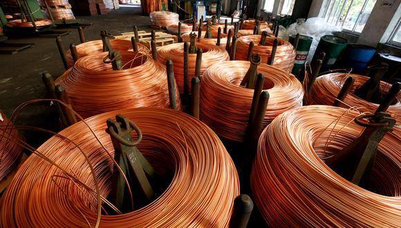 La producción de cobre se recuperaría este año. (Foto: Reuters)
