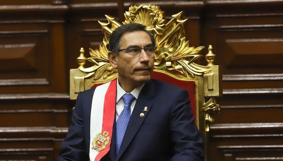 El presidente Vizcarra es investigado por presuntas irregularidades durante su paso como gobernador de Moquegua. (Foto: GEC)