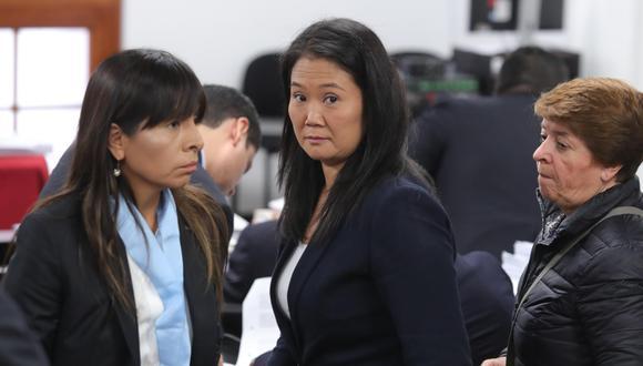 Keiko Fujimori permanece en el Penal Anexo de Mujeres de Chorrillos desde el 1 de noviembre. (Foto: GEC)