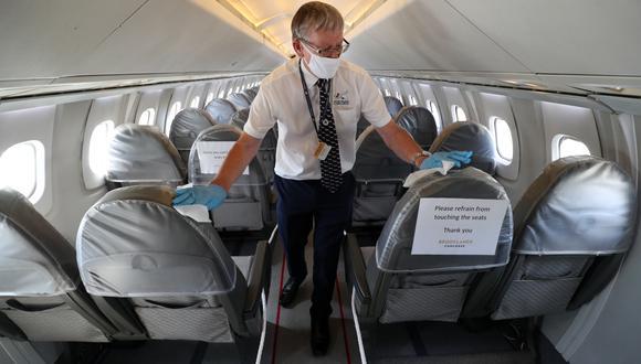 Muy poco es libre de riesgos, pero tal vez algunos riesgos, como volar, son lo suficientemente pequeños como para que valga la pena tomarlos. (Bloomberg)