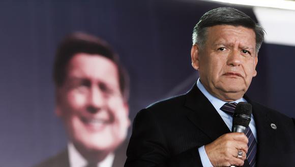 El líder de APP, César Acuña, es el único precandidato en las internas para tentar la presidencia, informó Luis Valdez. (Foto: Difusión)
