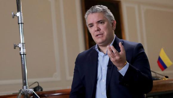 Iván Duque. (Foto: Reuters)