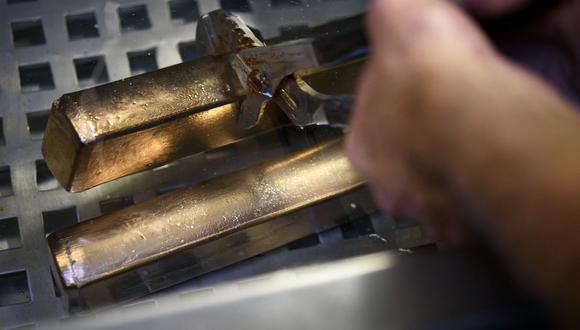 Los futuros del oro en Estados Unidos sumaban también un 0.7%, a US$ 1,770.60 la onza. (Foto: AFP)