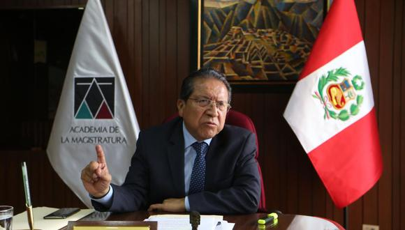 Pablo Sánchez, fiscal supremo (Foto: GEC)